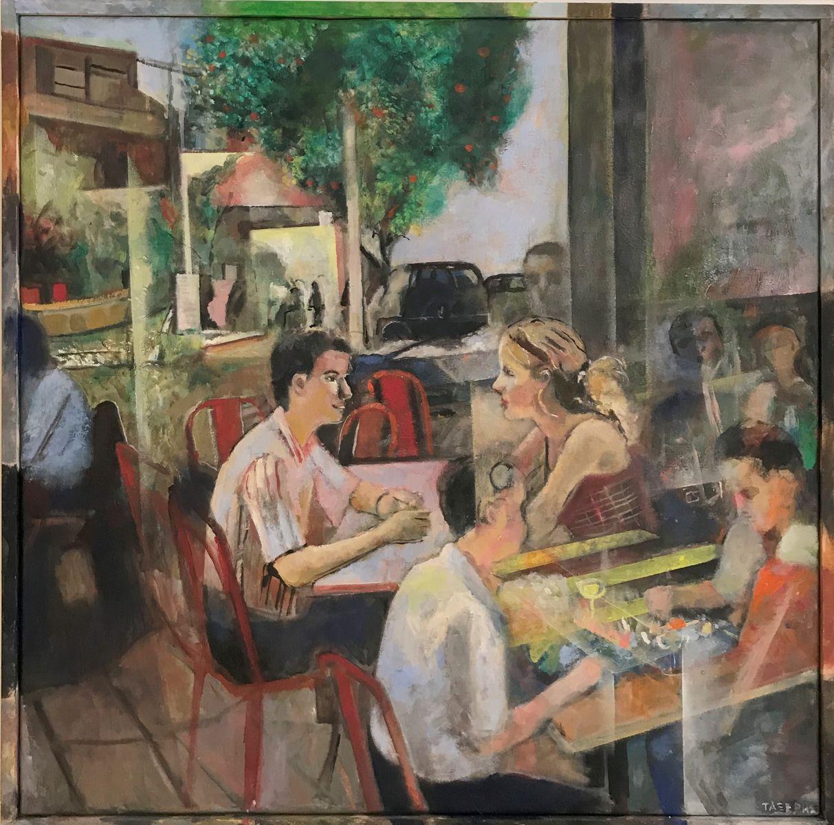 Γιώργος Τάξερης 50×50 εκ. Ακρυλικά σε καμβά Giorgos Taxeris 50×50 cm Acrylics on canvas (7)