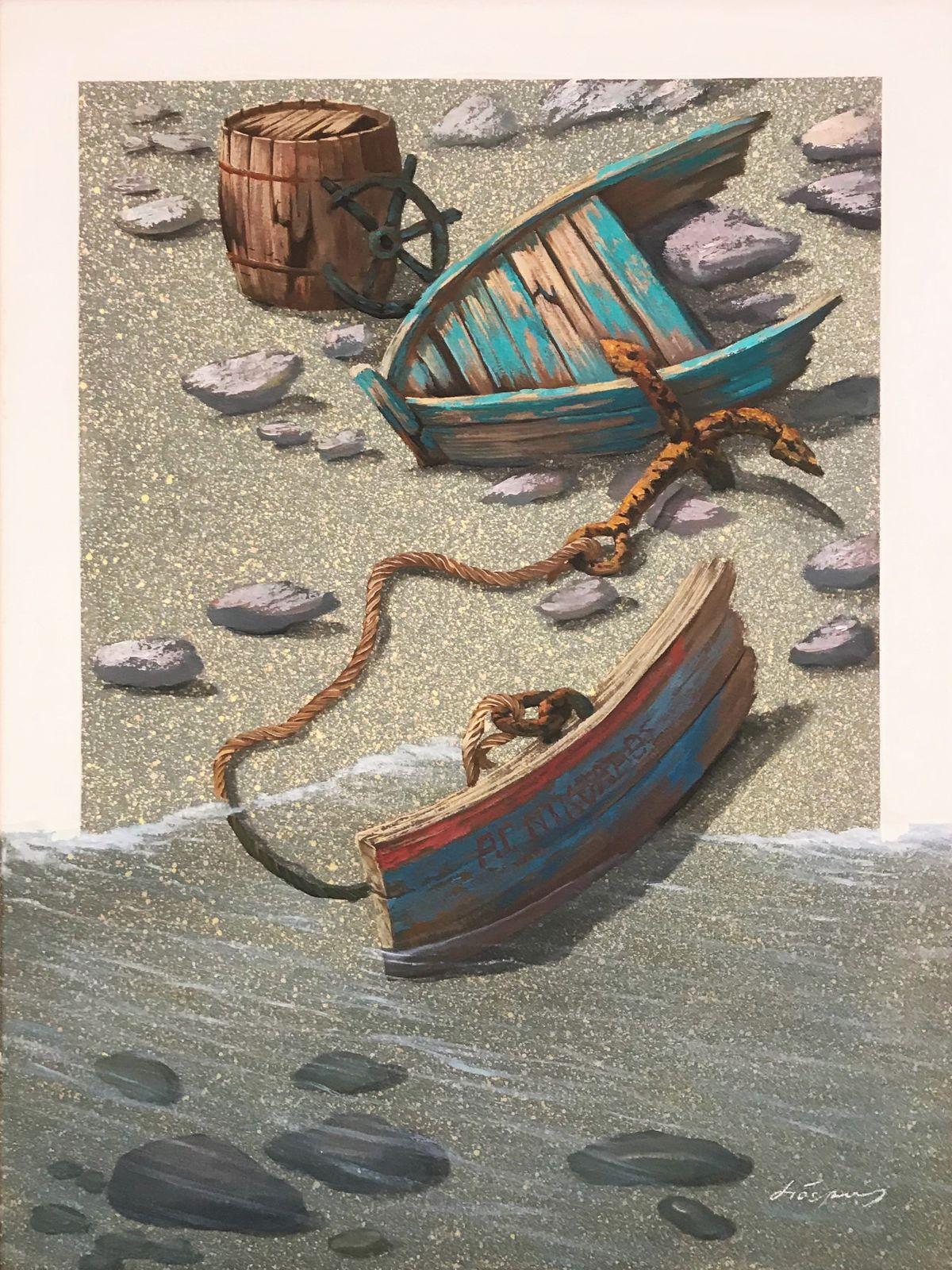 Δημήτρης Σιδεράς 60×80 εκ. Λάδια σε καμβά Dimitris Sideras Oils on canvas