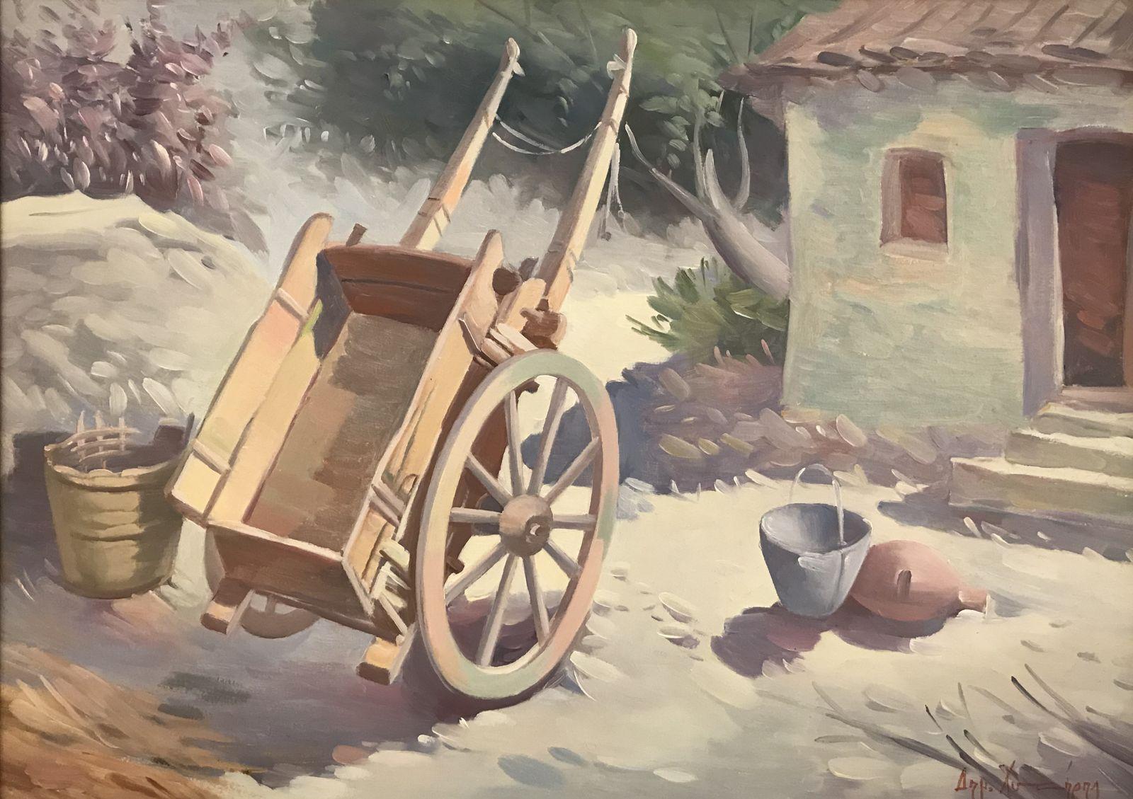 Δημήτρης Χυτήρης 50×70 εκ. Λάδια σε καμβά Dimitris Hitiris 50×70 cm Oil on canvas (1)