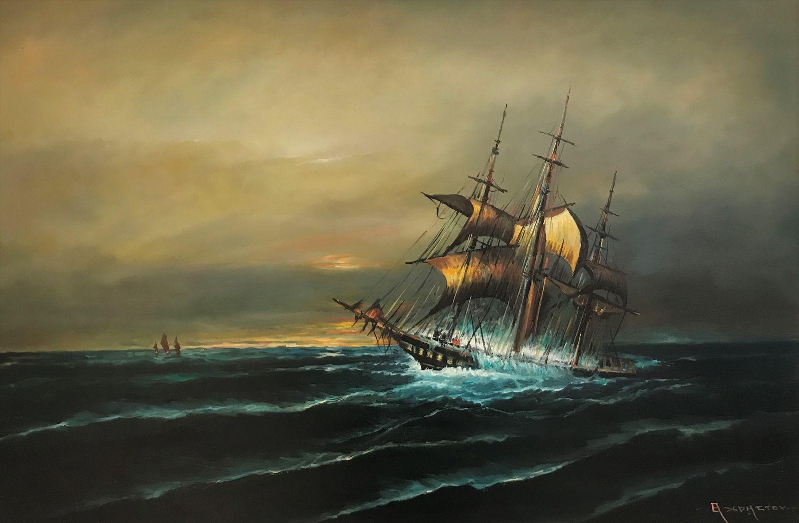 Θανάσης Χρήστου 60×90 εκ., Λάδια σε καμβά Thanassis Christou 60×90 cm Oils on canvas
