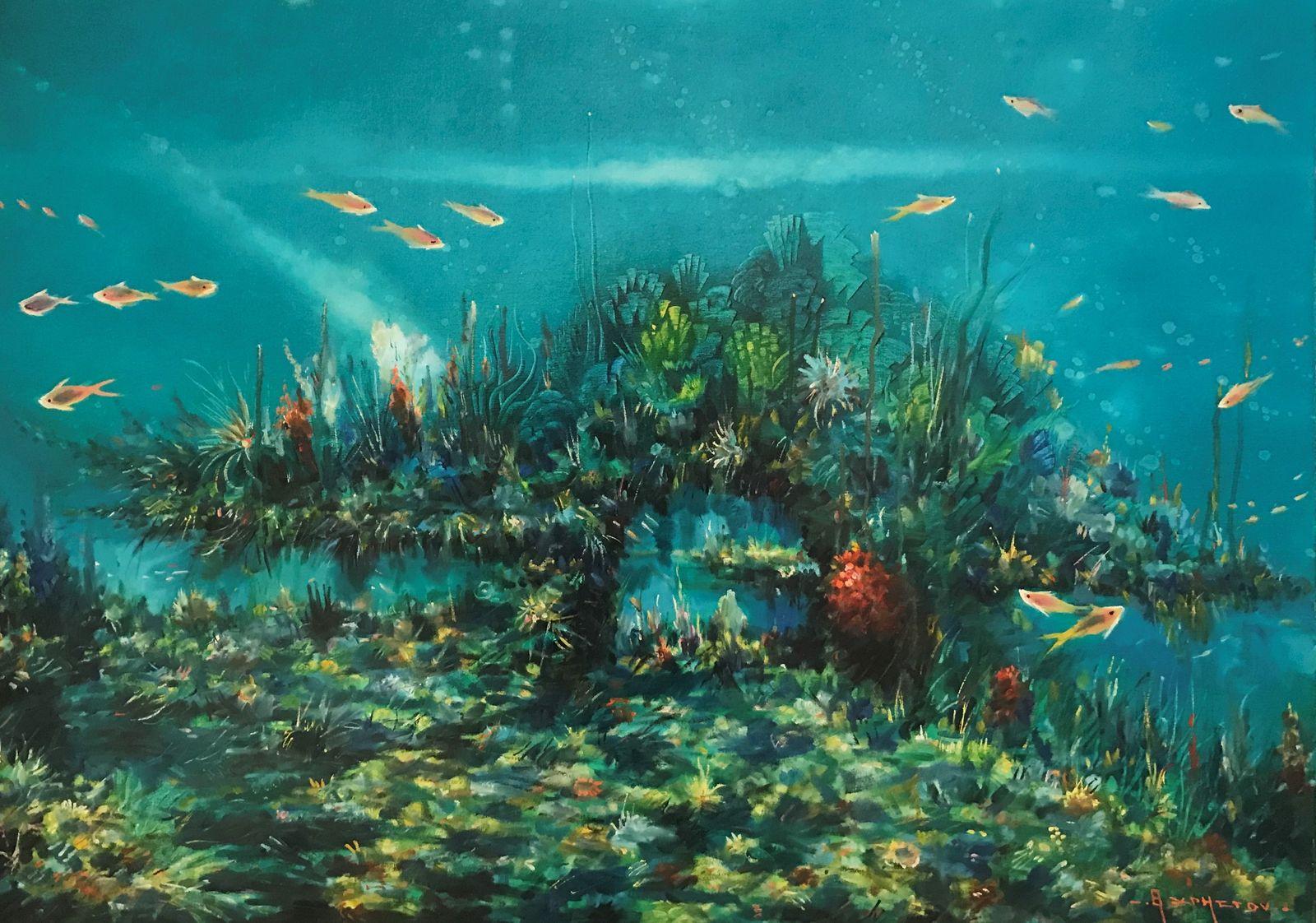 Θανάσης Χρήστου 70×100 εκ., Λάδια σε καμβά Thanassis Christou 70×100 cm Oils on canvas (1)