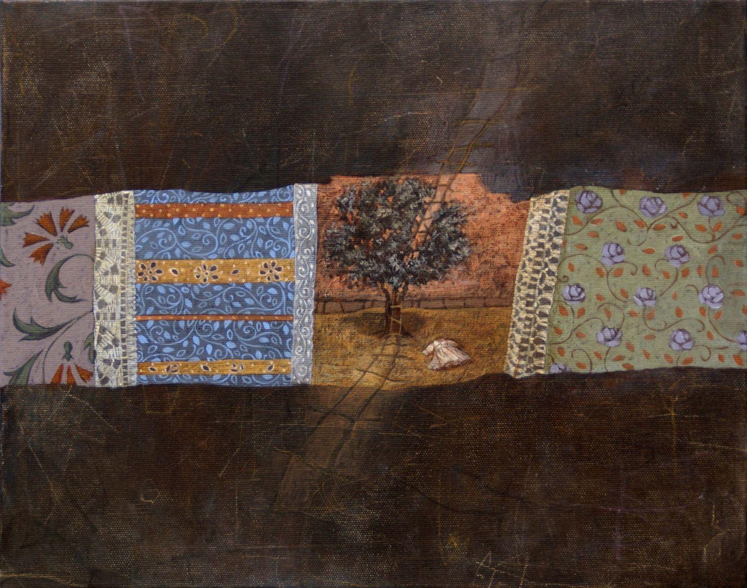 Άννα Χριστοφή 35×45 εκ. Μικτή Τεχνική σε καμβά Anna Christofi 35×45 cm Mixed media on canvas