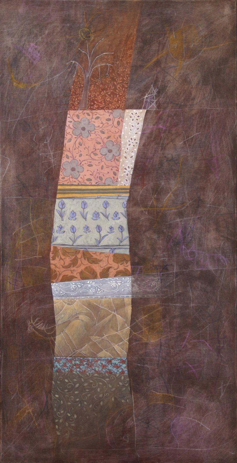Άννα Χριστοφή 50×100 εκ. Μικτή Τεχνική σε καμβά Anna Christofi 50×100 cm Mixed media on canvas