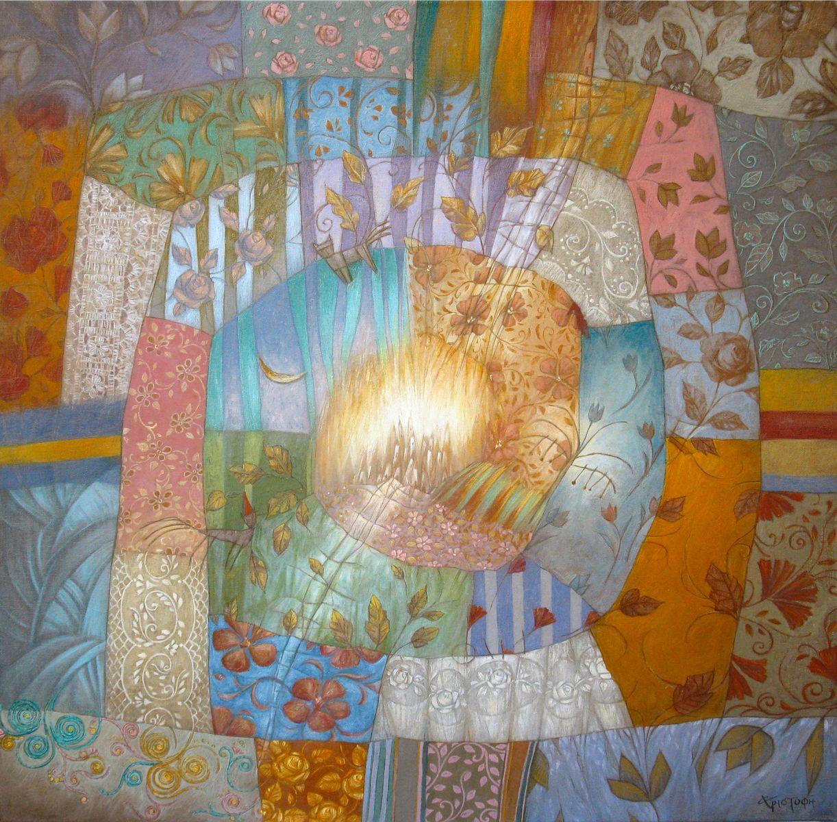 Άννα Χριστοφή 60×60 εκ. Λάδια σε καμβά Anna Christofi 60×60 cm Oils on canvas