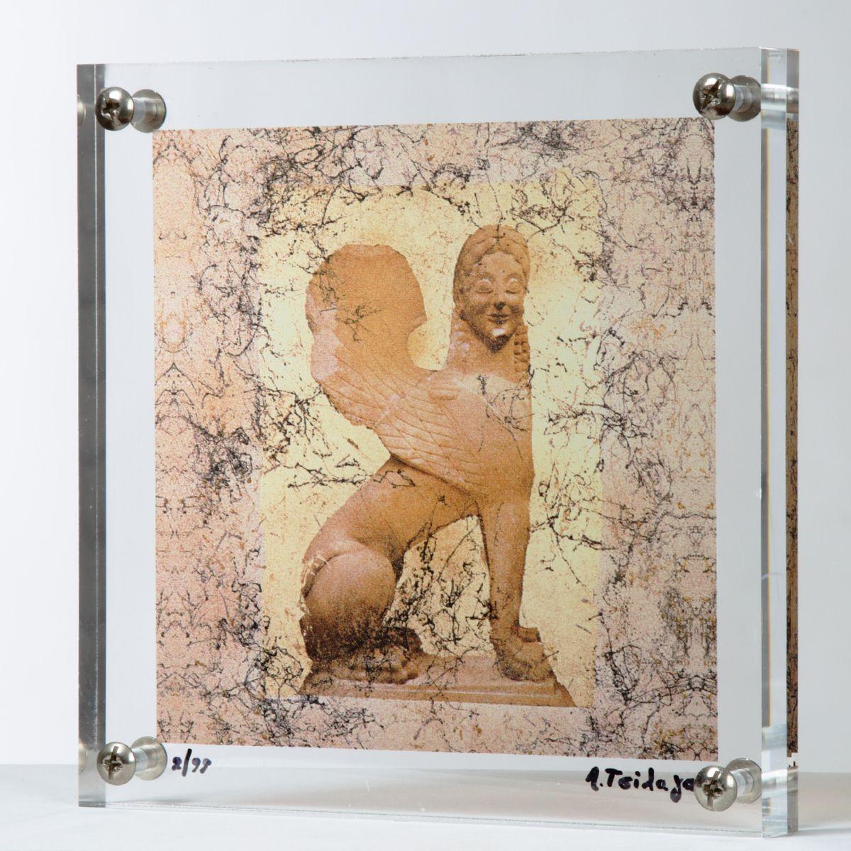 20200824 Λίνα Τσίλαγα, 24×24 εκ., Μεταξοτυπία σε plexi-glass, – Lina Tsilaga, 24×24 cm Silkscreen in plexi-glass