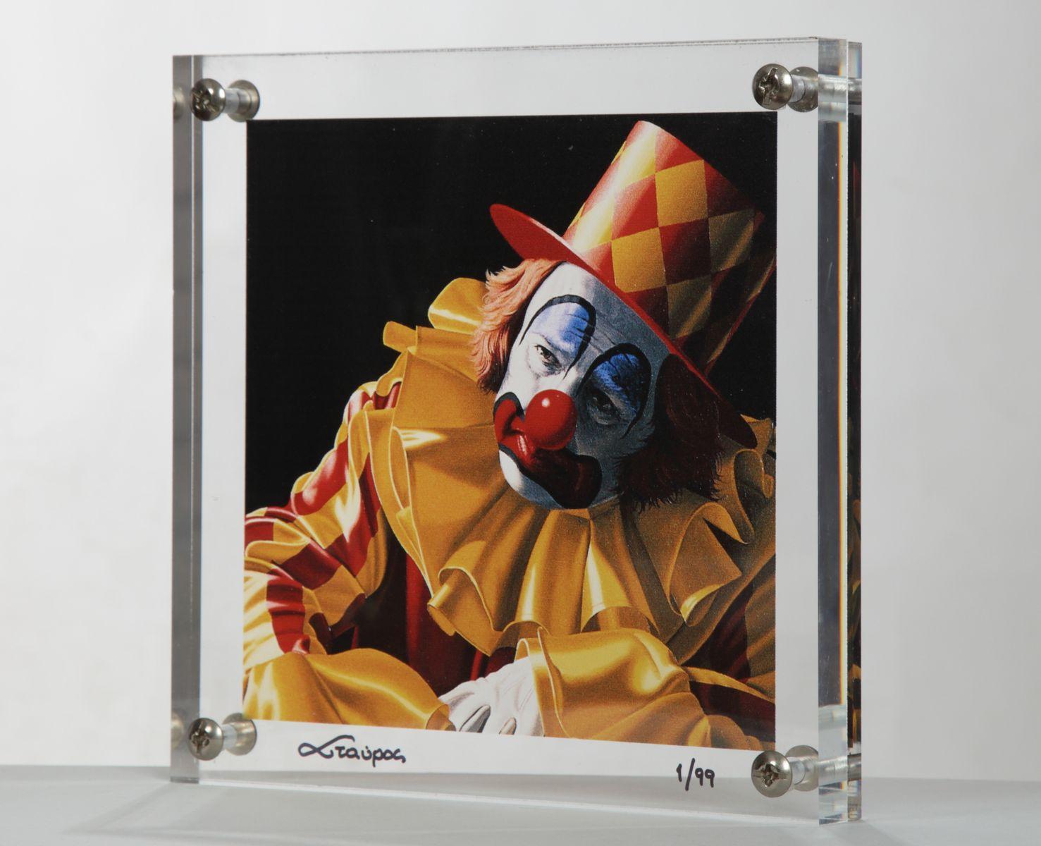 20200824 Σταύρος Δουζίνας, 24×24 εκ., Μεταξοτυπία σε plexi-glass, – Stavros Douzinas, 24×24 cm Silkscreen in plexi-glass